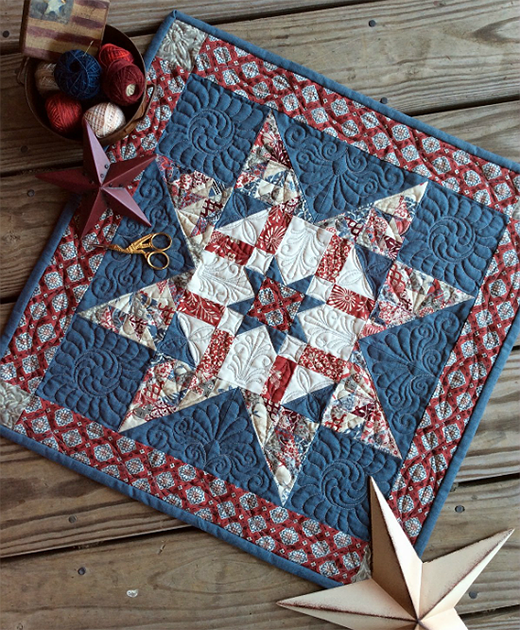 Charm-ing Army Star Medallion Free Tutorial
