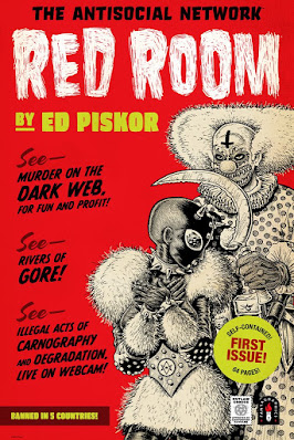 Red Room Screen Print by Ed Piskor x Mondo