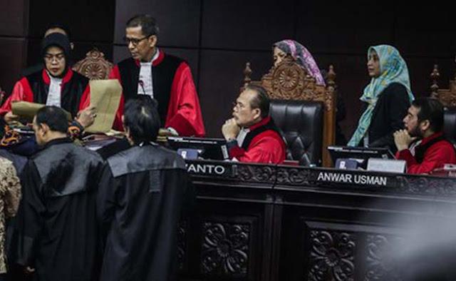 MK Bantah Pesan Berantai Bocoran Hasil Sengketa Pilpres