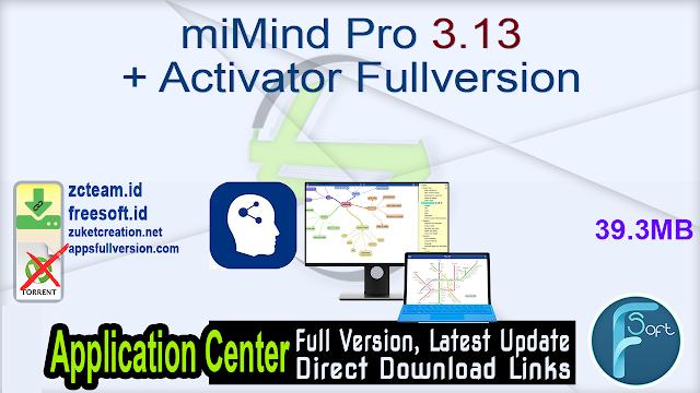 miMind Pro 3.13 + Activator Fullversion