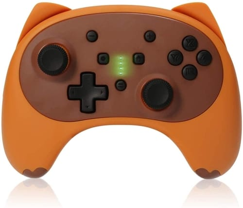 KINGEAR Cartoon Kitten Switch Pro Controller