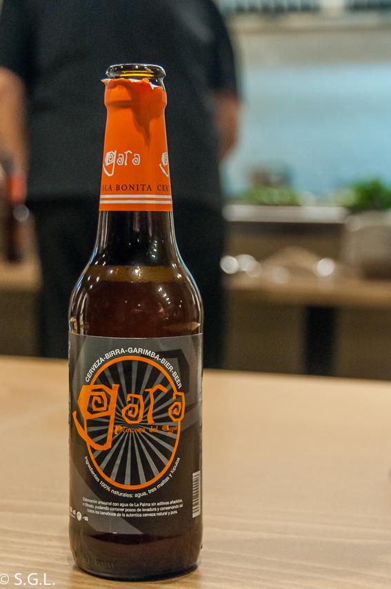 Cerveza Gara. La Palma con sabor