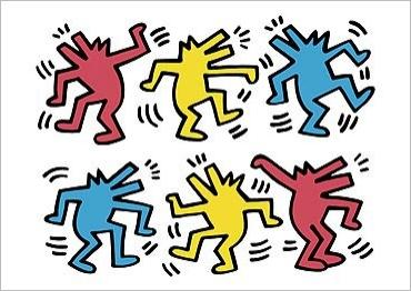 Mrs Wagners Art Ideas Keith Haring 1958 1990