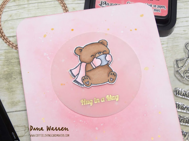 Dana Warren - Kraft Paper Stamps - Evelin T Designs