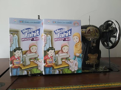 Review Buku Mesin Jahit Warisan Ibu Penerbit Indiva Solo
