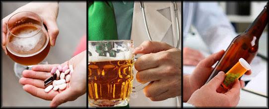 Sección: Medicamentos y Cerveza