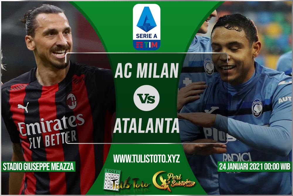 Prediksi AC Milan vs Atalanta 24 Januari 2021