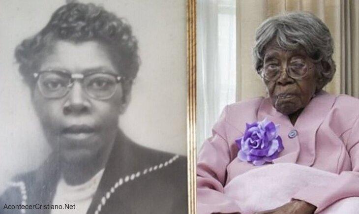 Hester Ford , la mujer más vieja de Estados Unidos