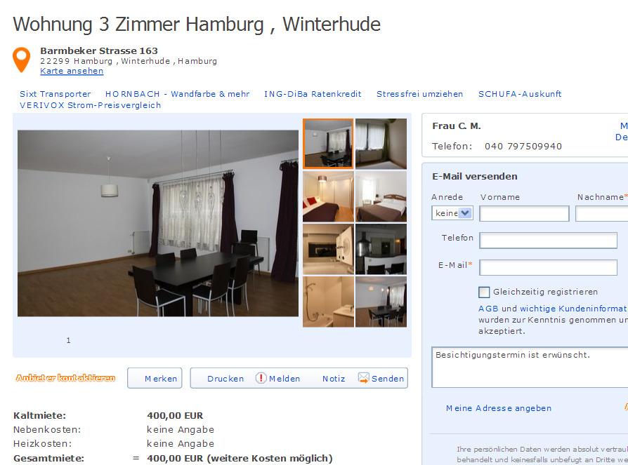 carolina meier informationen ber wohnungsbetrug. Black Bedroom Furniture Sets. Home Design Ideas