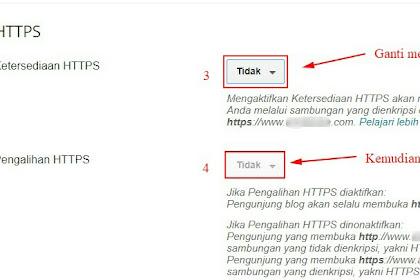 Cara Mengaktifkan Fitur HTTPS Blog Custom Domain Di Blogger