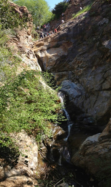 Etiwanda Falls - big falls, San Gabriel Mountains, San Bernardino National Forest