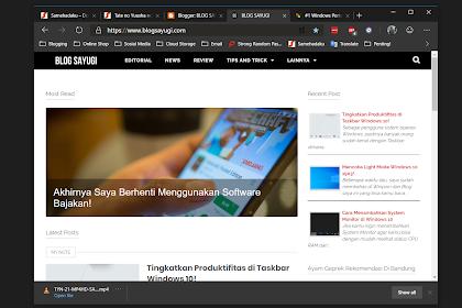Review Singkat Microsoft Edge Chromium Dev! - Masih Beta Tapi...