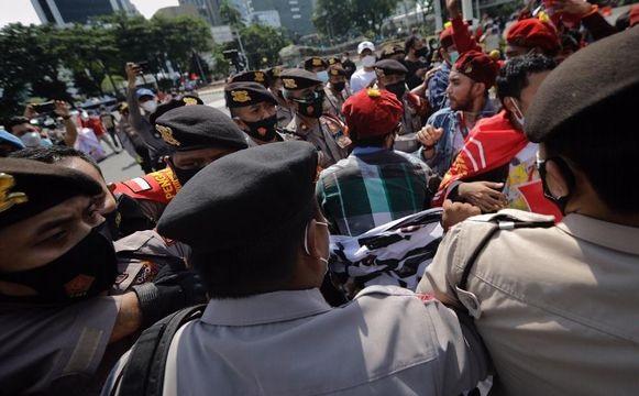KASBI: 300 Orang Ditangkap Polisi di Aksi May Day