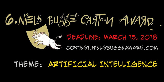 Notice from Organizer of Niels Bugge Cartoon Award 2018