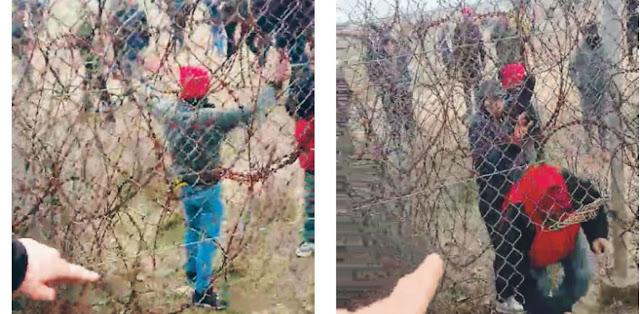 Η ΜΙΤ καθοδηγεί τους λαθρομετανάστες στις Καστανιές