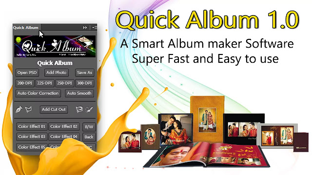 Quick Album 1.0 !! A Powerful Album Making Software