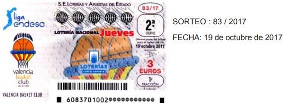 loteria valencia basket