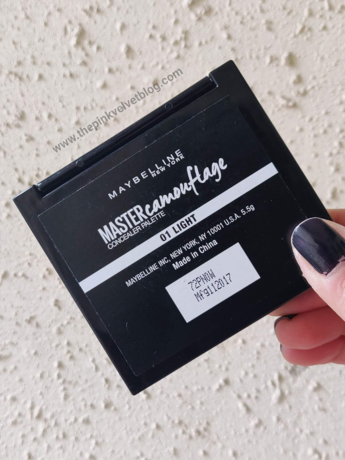 Maybelline MASTER Camouflage Concealer Palette - 01 Light | Review