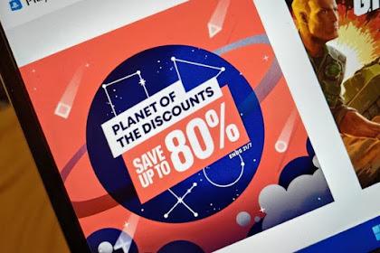 SONY Diskon Harga Game hingga 80 Persen di PlayStation Store