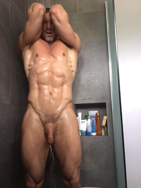 Gay Muscle Shower 102