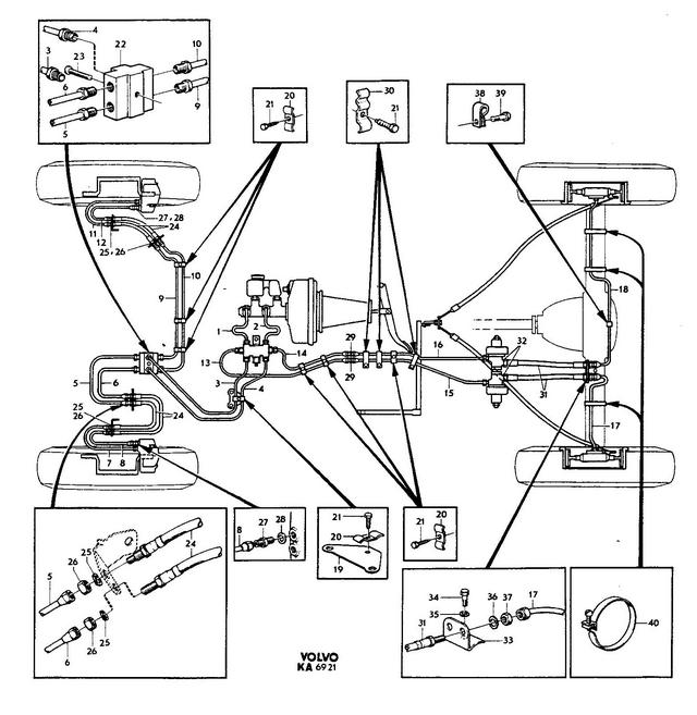 Volvo Brakes Diagram