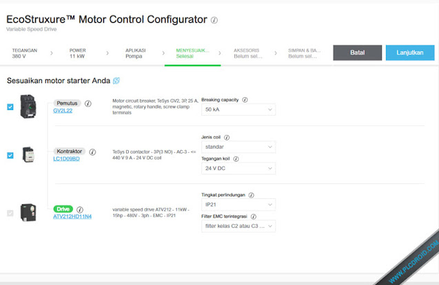 EcoStruxure™ Motor Control Configurator