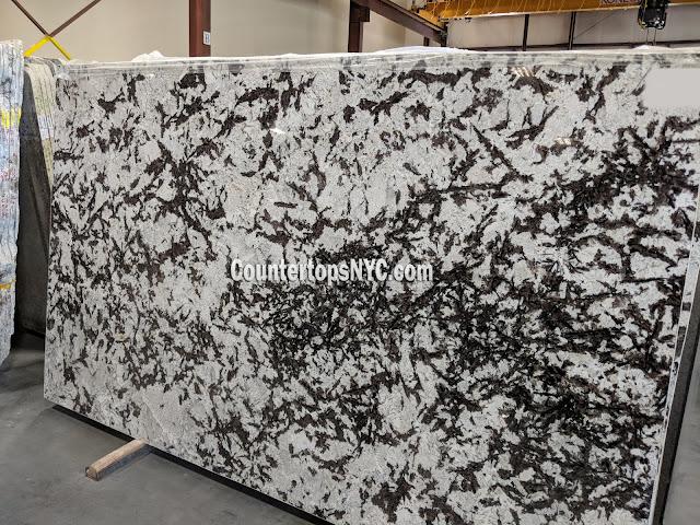 Splendor White Granite Slabs NYC