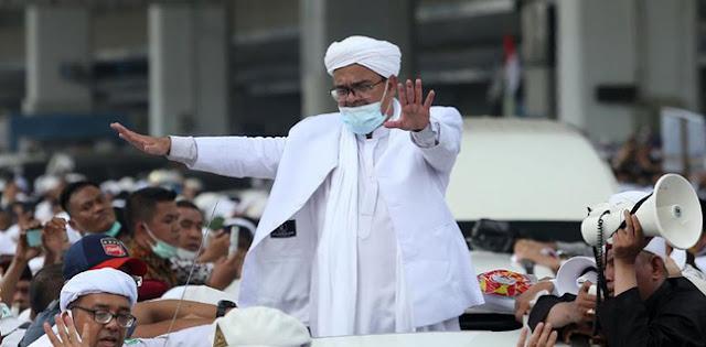 Habib Rizieq Shihab Jadi Simbol Perjuangan Rakyat Yang Kecewa Ke Pemerintah