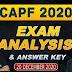 CAPF 2020 Exam Analysis: Get paper-wise analysis here