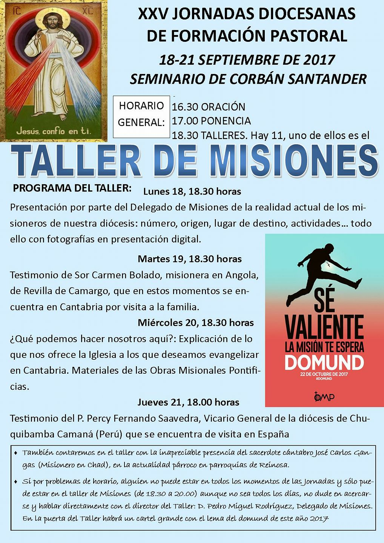Taller de misiones misiones de santander for Oficina 0049 banco santander