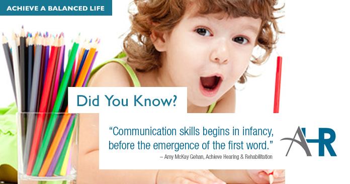 baby oral motor skills achieve hearing Plano Dallas
