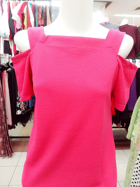 Model Blouse Off Shoulder Import Berkualitas Murah