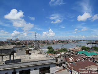 Beautiful Sky over Buriganga