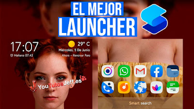 launcher rapido, descargar smart launcher 5
