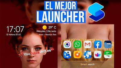 El Mejor Launcher para Android, Descargar Smart Launcher 5