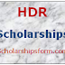 HDR scholarships 2018 -19 UG/PG Research scholarships Form