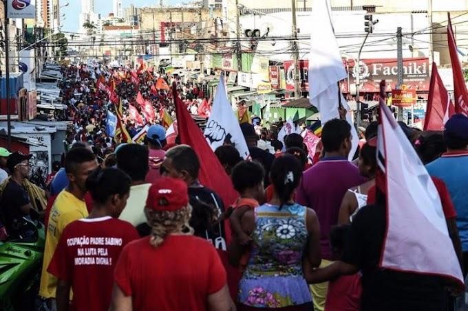 Manifestações fazem trabalhadores públicos e privados do RN paralisarem atividades nesta sexta