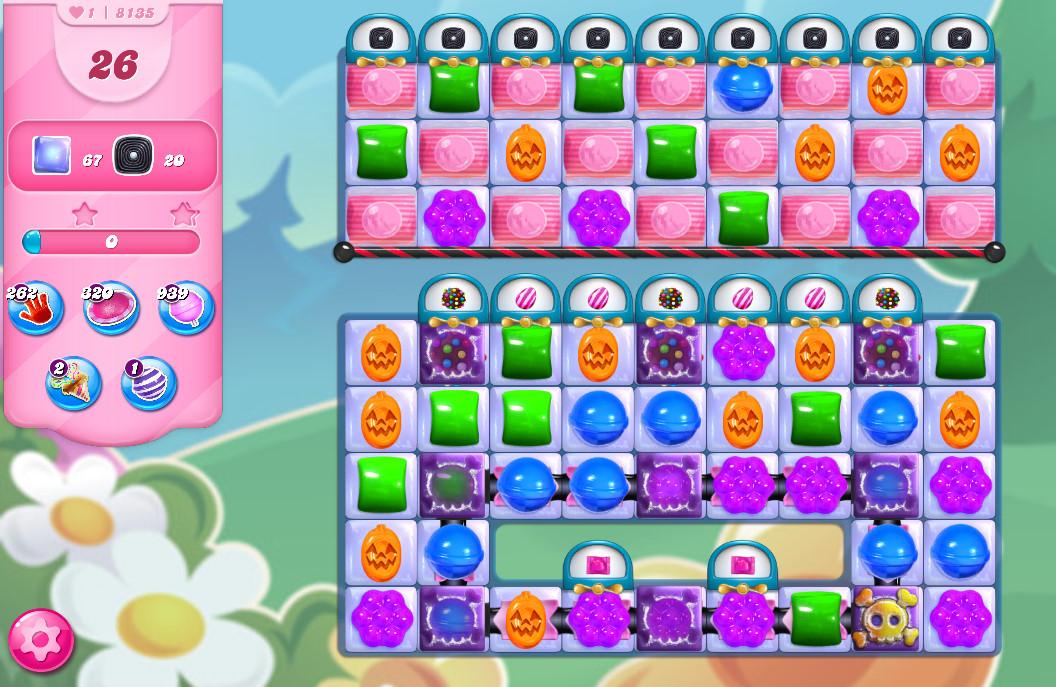 Candy Crush Saga level 8135