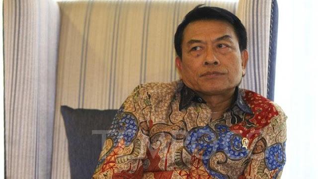 Soal Posko Prabowo-Sandi di Solo, Moeldoko: Ganggu Pemandangan Saja