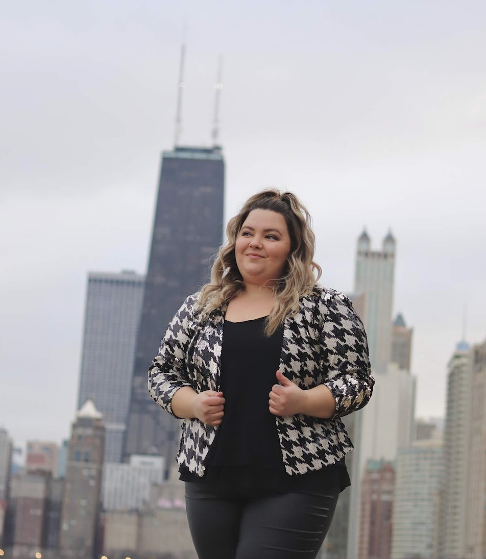 Natalie Craig is the blogger behind Natalie in the City, a Chicago-based, plus size fashion blog focused on body positivity. In 2013, she created the platform, which has since been recognized by readers, media, and brands worldwide.