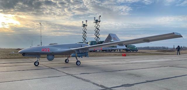Bayraktar TB-2 uav drone