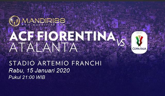 Prediksi Fiorentina Vs Atalanta, Rabu 15 Januari 2020 Pukul 21.00 WIB