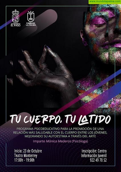 Los jóvenes de El Paso refuerzan su autoestima con el programa psicoeducativo 'Tu cuerpo, tu latido'