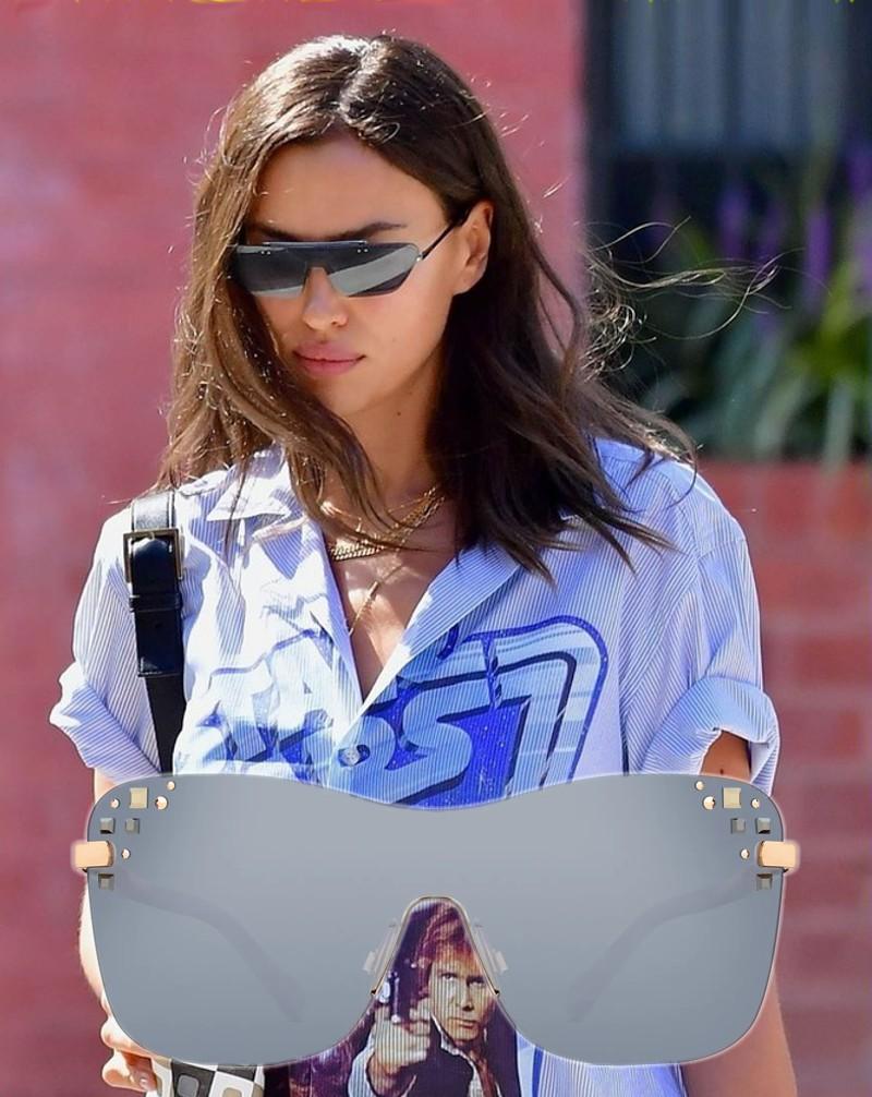 Óculos de sol das famosas para o verão 2020 - Irina Shayk