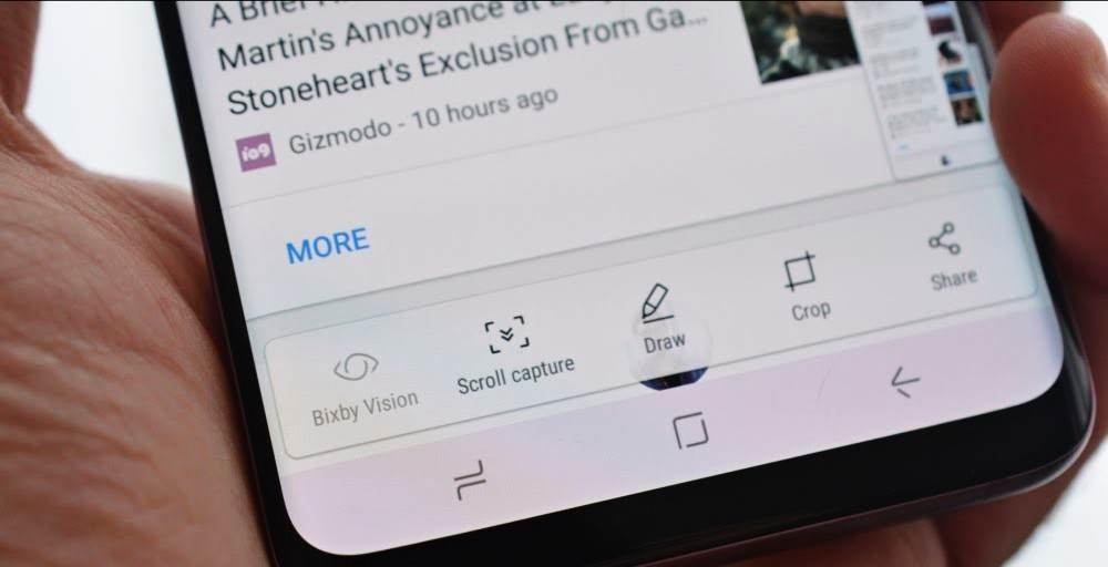 How To Take A Screenshot On Samsung Galaxy S9, S9 Plus and Note 9