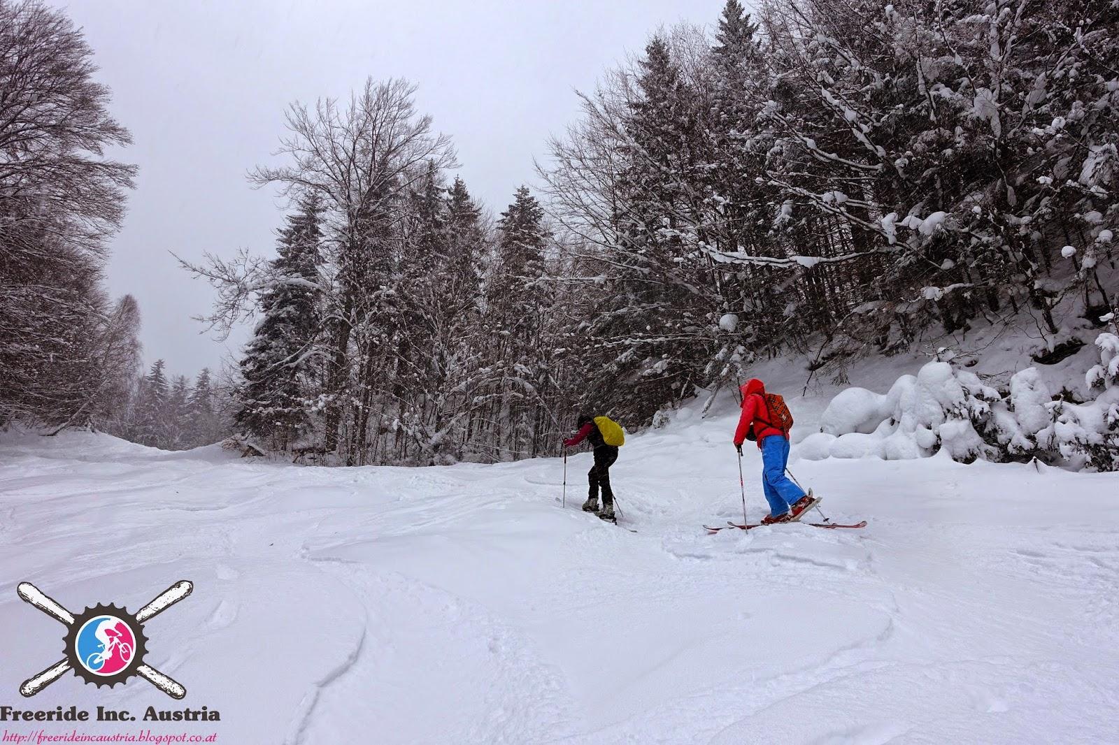 Blog über Skitouren