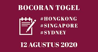 Bocoran Togel HK 12 Agustus 2020