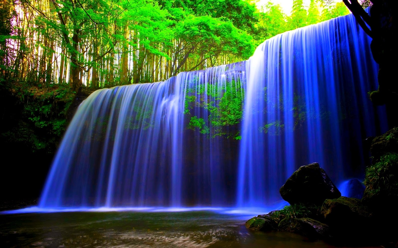 The Wallpaper Beautiful Waterfalls In The World