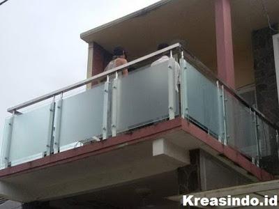 Daftar Harga Railing Balkon Stainless Minimalis, Railing Kaca, Railing  Klasik, Railing Akrilik Dan Handrail Tangga [ Harga Update Agustus 2020 ]
