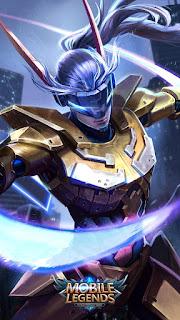 Saber Golden Warrior Heroes Assassin of Skins V2